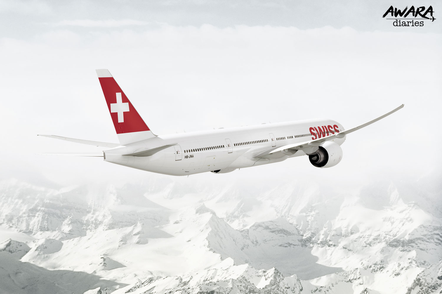 Swiss An Airline Which Is Smooth Like Swiss Cheese